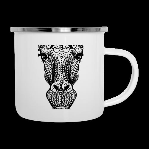 Mandala giraffes face - Camper Mug