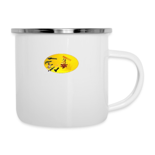 CROW MEME - Emaille-Tasse