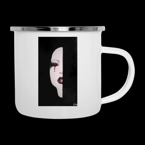 BlackWhitewoman - Tazza smaltata