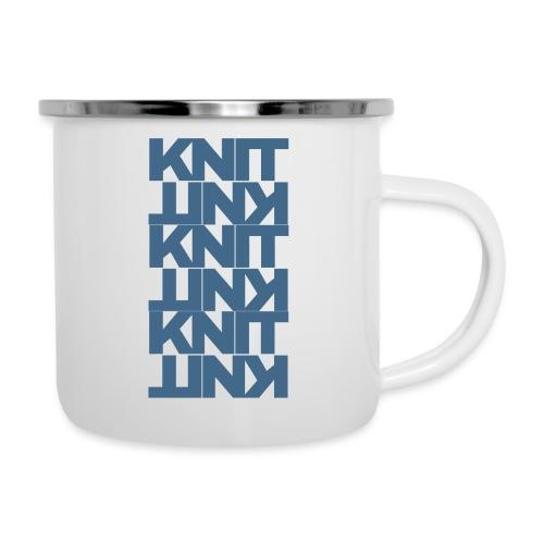 Garter Stitch, dark - Camper Mug