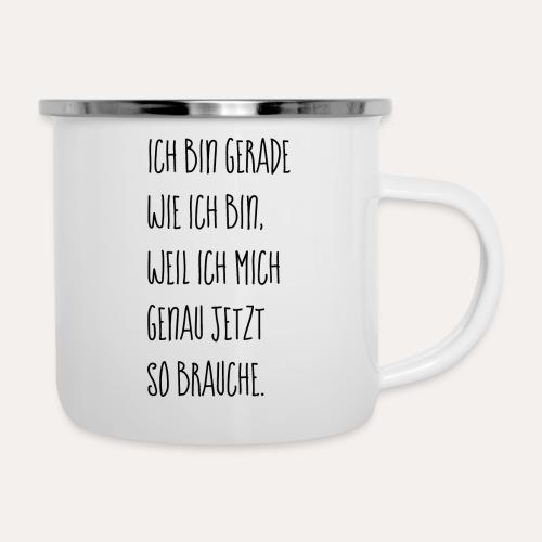 Ich bin Ich - Emaille-Tasse