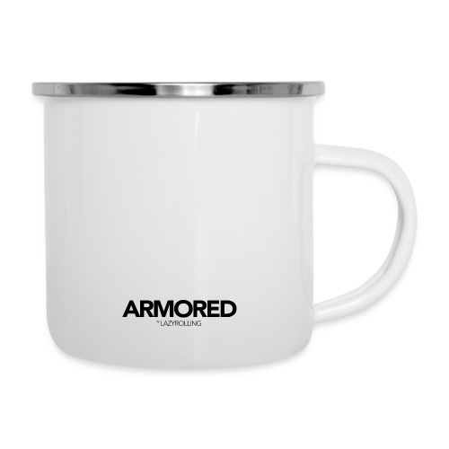ARMORED BLACK LOGO - Camper Mug