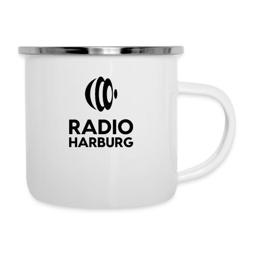 Radio Harburg - Emaille-Tasse