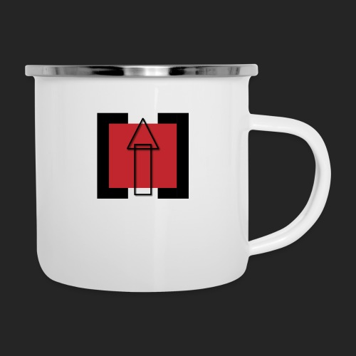 TechUPWorld Accessoirs - Emaille-Tasse