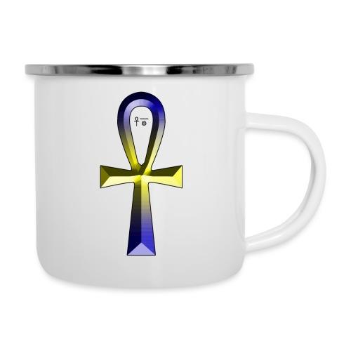 Anch - Symbol für (ewiges) Leben - Emaille-Tasse
