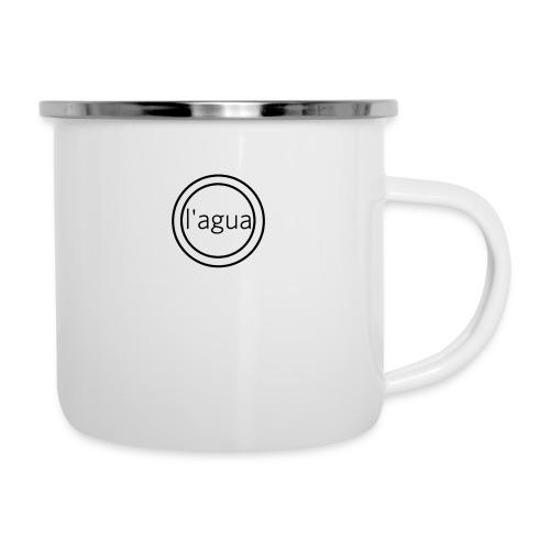l agua black theme - Camper Mug