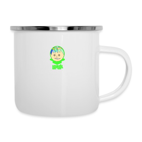 Lord L Comic - Emaille-Tasse