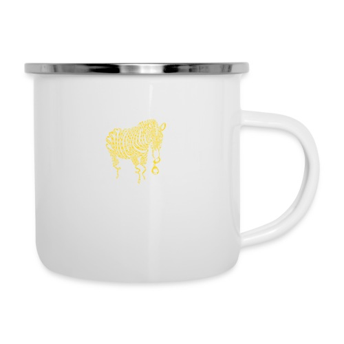 Nature of Crime - Emaille-Tasse