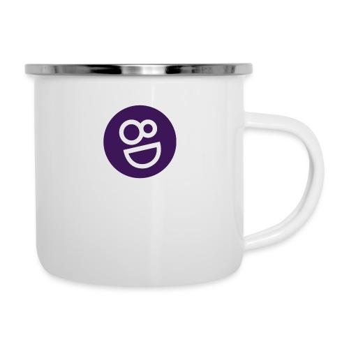 logo 8d - Emaille mok
