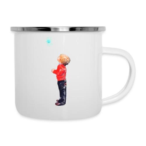 The Boy and the Blue - Camper Mug
