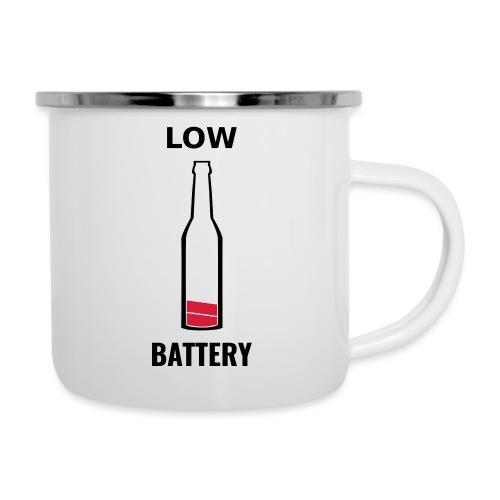 Beer Low Battery - Tasse émaillée