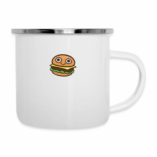 Burger Cartoon - Emaille mok