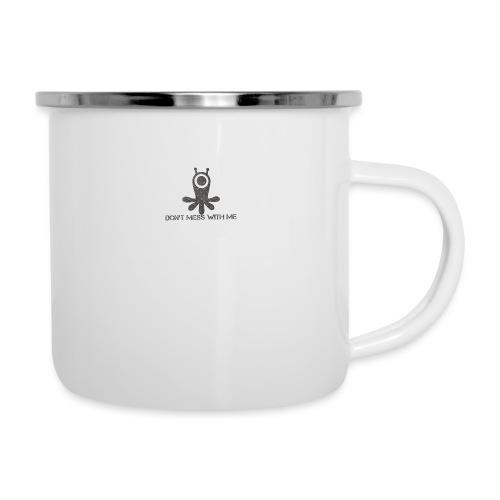 Dont mess whith me logo - Camper Mug
