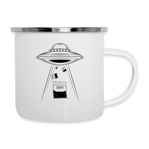 UFO thuts - Tasse émaillée