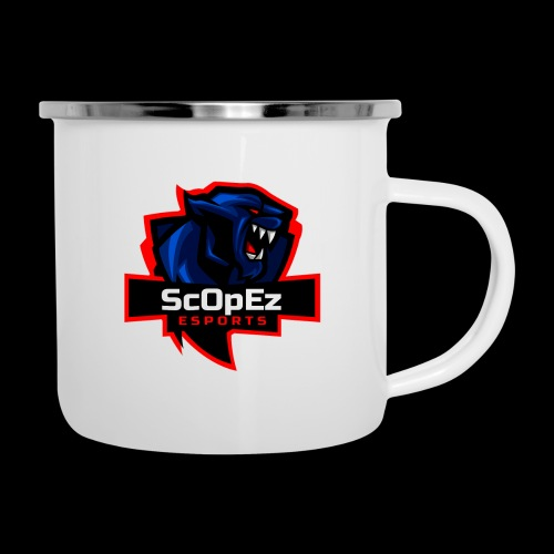 ScOpeZ Koeffizient - Emaille-Tasse