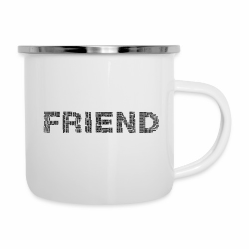 Przyjaciel - Kubek emaliowany
