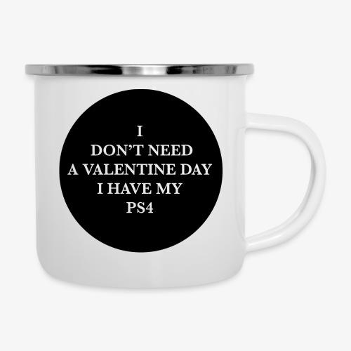 Valentine Day - Love videogame - Tazza smaltata