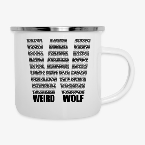 The Big W (Black) - Camper Mug