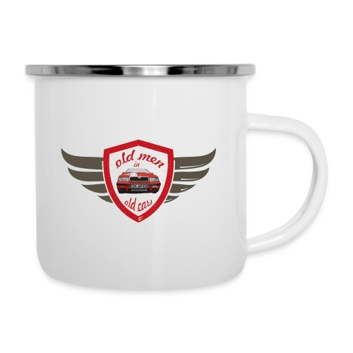 181123_Logo_Old men in ol - Emaille-Tasse