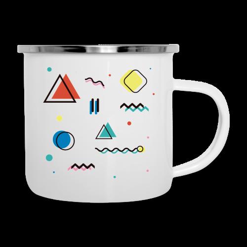 Abstract geometry - Camper Mug