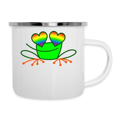 Pride Frog in Love - Camper Mug
