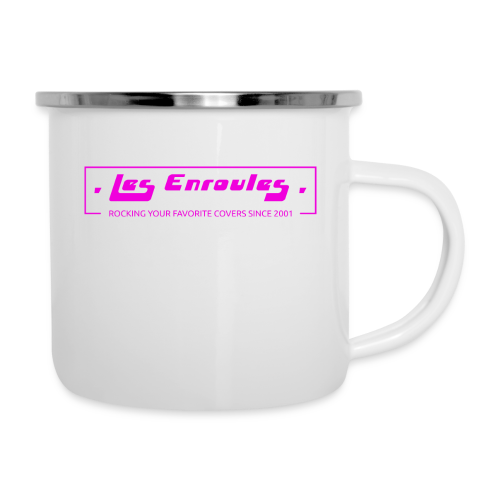 Rocking since 2001! Pink - Tasse émaillée