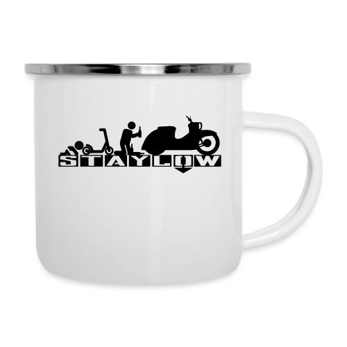 STAYLOW Bier - Emaille-Tasse