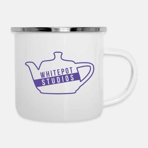 Whitepot Studios Logo - Camper Mug