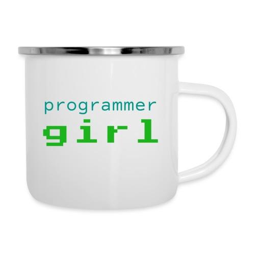 Programmer Girl - Kubek emaliowany