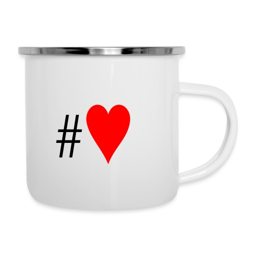 Hashtag Heart - Camper Mug