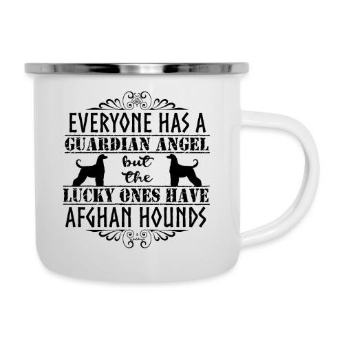 Afghan Hound Angels - Camper Mug
