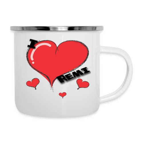I love Remi - Emaljekopp