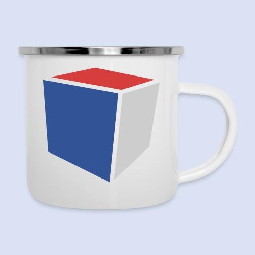 Cube Minimaliste - Tasse émaillée