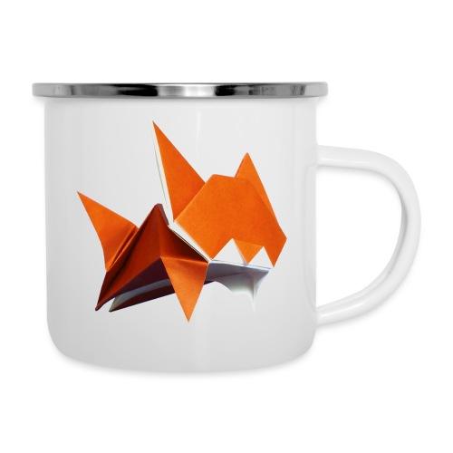 Jumping Cat Origami - Cat - Gato - Katze - Gatto - Camper Mug