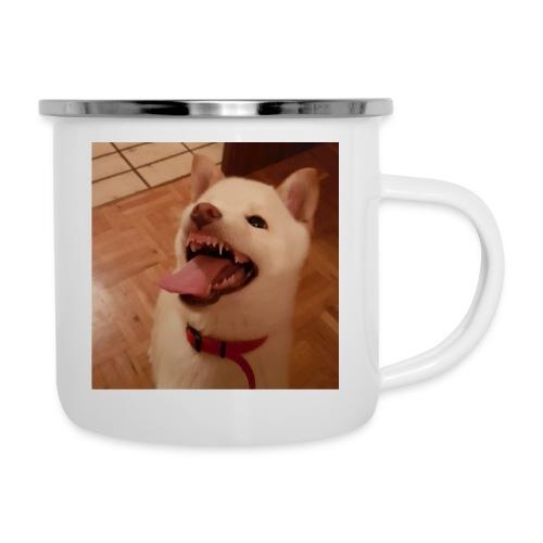 Mein Hund xD - Emaille-Tasse