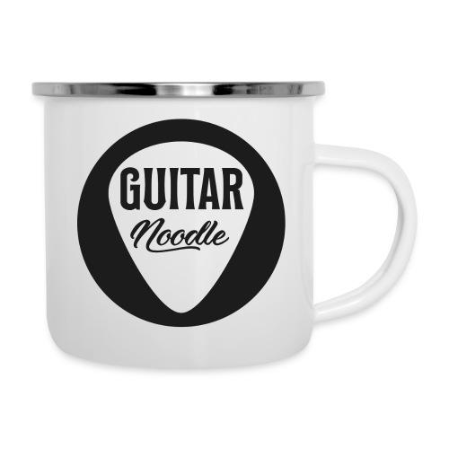 Guitar Noodle Round Logo - Camper Mug