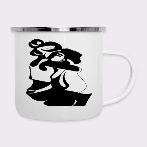 In Deinen Armen Liebespaar - Emaille-Tasse