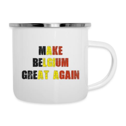 Make Belgium Great Again - Maak België Terug Groot - Emaille mok