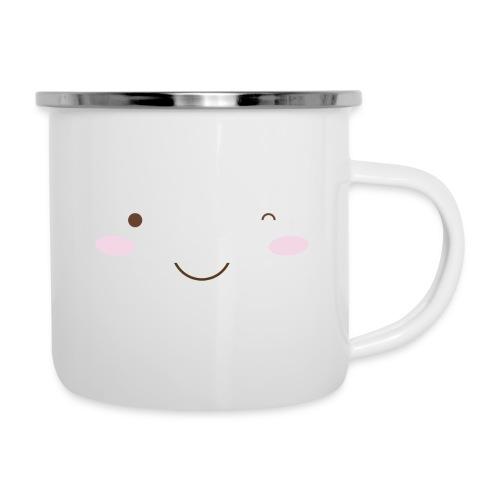 happy face wink - Camper Mug