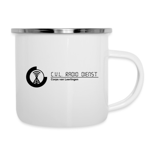 CRD Logo met Tekst - Emaille mok