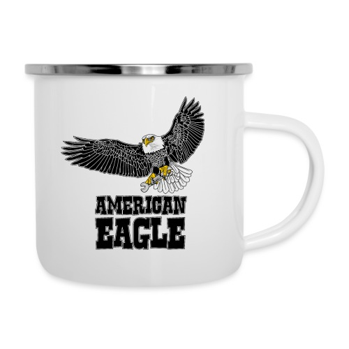 American eagle 2 - Emaille mok