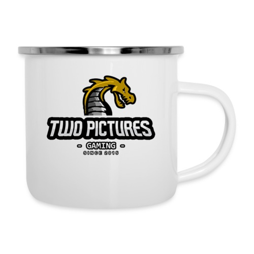 TwoPictures Gaming - Yellow Logo 2017 - Emaille-Tasse