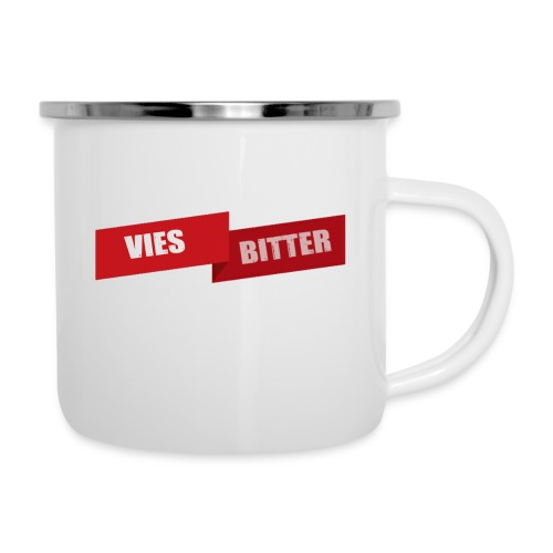Vies Bitter - Emaille mok