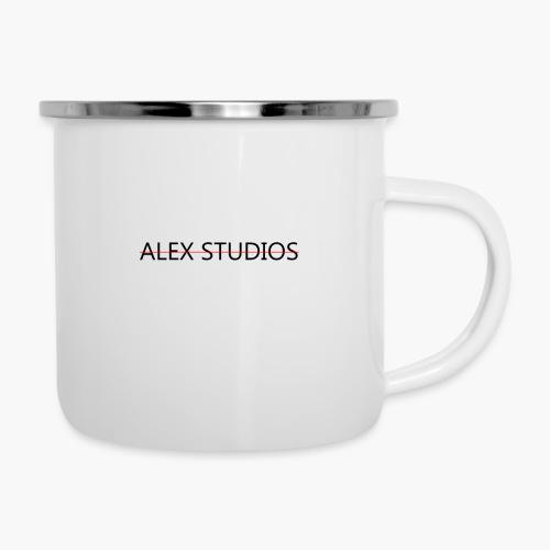AlexStudios for men - Emaille-Tasse