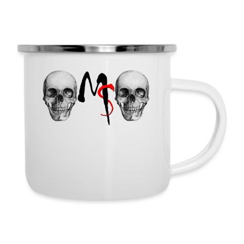 skulls - Emaille mok