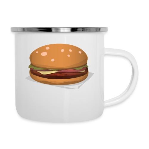 hamburger-576419 - Tazza smaltata