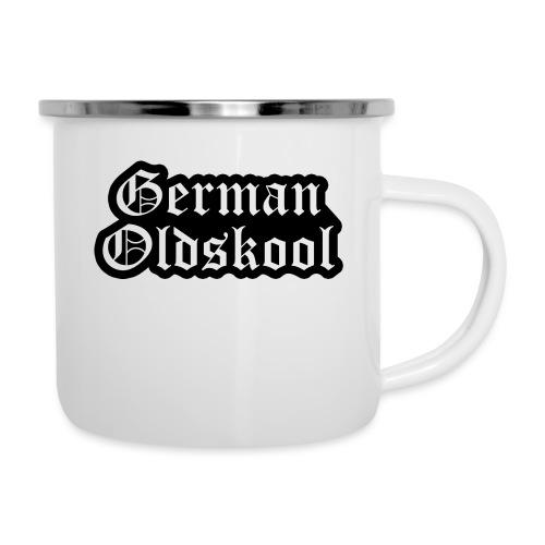 Grand Logo German Oldskool Official - Tasse émaillée