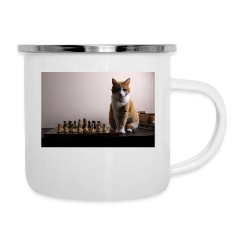 Charlie and his chess board - Camper Mug