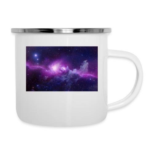tshirt galaxy - Tasse émaillée