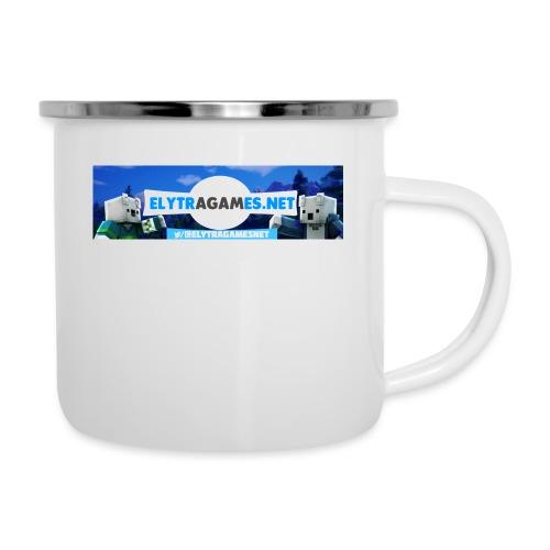 ElytraGamesNET Tassen - Emaille-Tasse